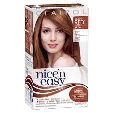 Clairol Nicen Easy Original Permanent Hair Color 6r Light Auburn 3 Count