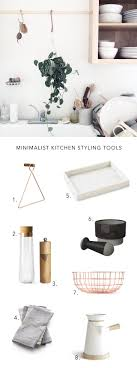 Kitchen Styling Simple Kitchen Decor For Minimalist Home Styling Anne Sage