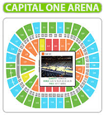 Uncommon Capital One Chart Capital One Arena Seating Chart