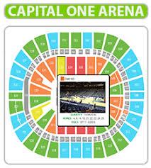 Capital Arena Seating Chart Uncommon Capital One Chart Capital One Arena Seating Chart