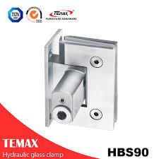 90 degree stainless steel glass shower door hinge