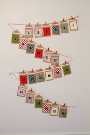make your own advent calendar with photos