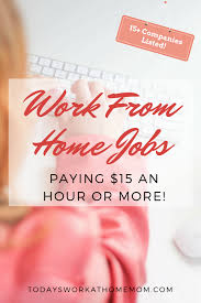 Work from Home Jobs Paying 15 an Hour or More 683x1024