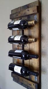 wine racks for the wall shock rustic rack ideas learn to diy home interior 26