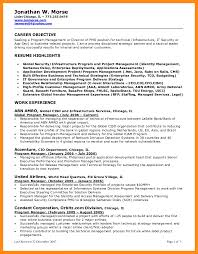 Resume Objective Examples How To Write A Management Objectives F ...