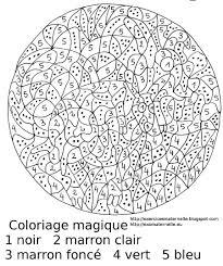 Exercice Coloriage Magique Liberate