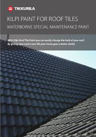 paint for roof tiles