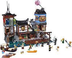 Amazon.com: LEGO Ninjago 70657 Movie City Docks: Toys & Games