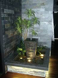 luxury diy indoor water wall feature design idea office fountain waterfall garden watering system pond