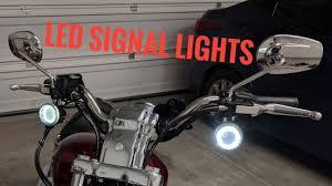 Harley Davidson Sportster Led Turn Signal Running Light Installation