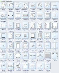 standard hvac plan symbols and their meanings hvac equipment symbols