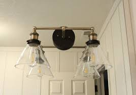 brass bathroom lighting fixtures. brass lighting for mirror in bathroom fixtures