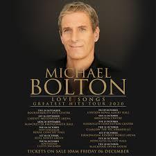<b>Michael Bolton</b> Love <b>Songs</b> - Greatest Hits Tour 2020 | Motorpoint ...