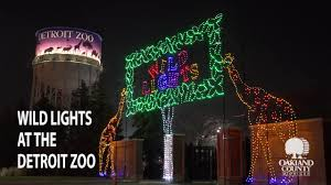 Oakland Zoo Lights 2014 Brighten Up Your Holiday Season With Detroit Zoos Wild