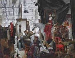Академия Художеств ВКонтакте Дипломные работы живописного факультета 2009