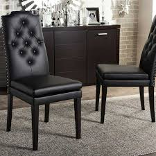 ospdesigns odessa solid black metal dining chair set of 2 od2918a2 inspiration of ivory upholstered dining