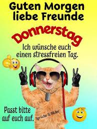 Download Guten Morgen Liebe Freunde Donnerstag Ich Wünsche Euch
