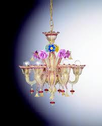 venetian glass chandelier gesuiti 6 lights art 305 6