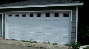 16x7 garage doorHormann 16x7 garage door model 3200 wPrarie glass WoodridgeIL