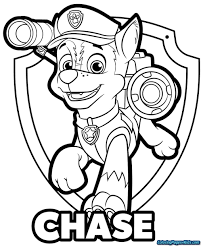 Free Paw Patrol Coloring Pages Hwnsurfme