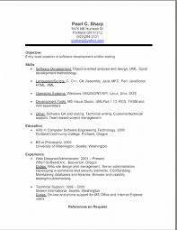 Sample Resume For Employment Resume Job Examples Resume Work Template 54