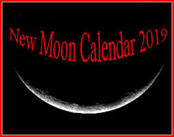 Moon Phases In 2019 New Moon Calendar And Solar Eclipses