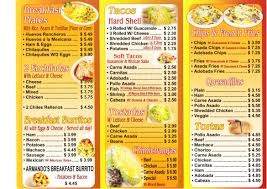 mexican food menu. Delighful Food Advertisements On Mexican Food Menu