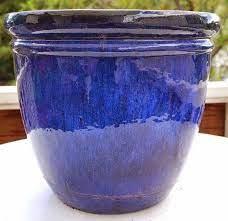 outdoor glazed ceramic planters