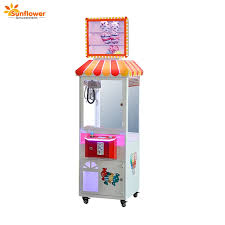 Lollipop Vending Machine Best Hot Sale Coin Operated Lollipop Toy Crane Claw Machine Sweet House