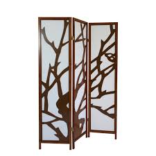 3 Fach Paravent Raumteiler Holz Trennwand Spanische Wand Sichtschutz Braun 175cm
