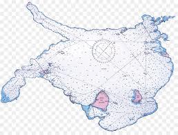 Lake Simcoe Depth Chart Map Cartoon