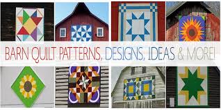 Quilt Patterns For Barn Art Amazing Barn Quilt Patterns Designs Ideas More