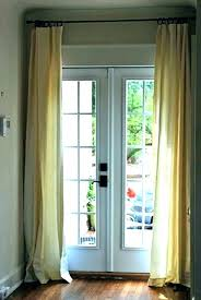 french door curtain ideas for coverings outstanding doors patio n curtains window treatment sliding glass do