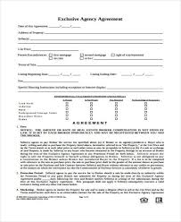 Such agreements will identify the parties and the property being sold as well as any structures, improvements and fixtures included in the transaction. Free 9 Agency Agreement Forms In Ms Word Pdf Pages