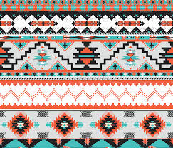 Seamless colorful aztec pattern by to_mua_to, via Shutterstock