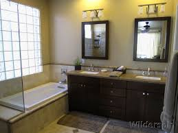 Lowes Bathroom Paint Design Snazzy Lowes Bathroom Decor With Peach Wall Frame Mirror