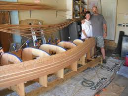 Homemade Wooden Games Fruita couple plans paddle trip in their homemade woodstrip canoe 66