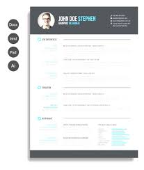Free Word Resume Templates Modern