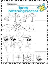 Spring Worksheets For Kindergarten Spring Kindergarten Math ...