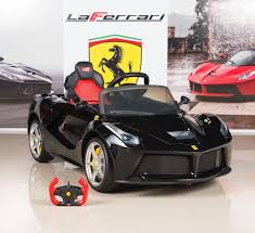 Amazon.com: BigToysDirect 12V Ferrari LaFerrari Battery Operated ...