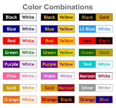 Avialable Color Options