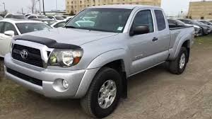 Pre Owned Silver on Grey 2011 Toyota Tacoma 4WD Access Cab V6 Auto ...