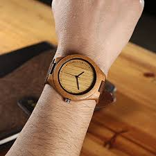 cucol mens wooden watches brown cowhide leather strap casual watch cucol mens wooden watches brown cowhide leather strap