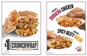 taco bell crunchwrap sliders. Contemporary Crunchwrap New 1 Sriracha Crunchwrap Sliders At Taco Bell Throughout