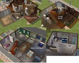 Mod The Sims    quot Father of the Bride quot  House    Click image for larger version Name  FotB rooms jpg Size