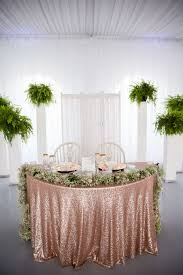 tablecloth for small round table luxury our sweetheart table rose gold glitter table cloth with baby