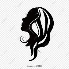 女は側面にシルエット ベクトル 女の横顔 シルエット画像とpsd素材