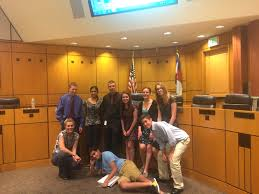 Teen court program operates under