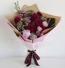 romantic bouquet for valentine s day in perth