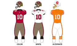 Buccaneers Tampa Bay History Jersey